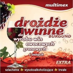 DROŻDŻE WINNE BURGUND - MULTIMEX
