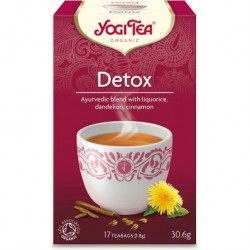 HERBATKA DETOX BIO (17 x 1,8 g) - YOGI TEA