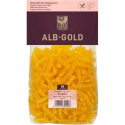 MAKARON (KUKURYDZIANO - RYŻOWY) FUSILLI BEZGLUTENOWY BIO 250 g - ALB-GOLD