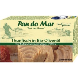 TUŃCZYK W BIO OLIWIE Z OLIWEK 120 g - PAN DO MAR