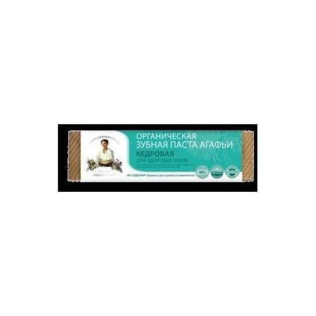 PASTA DO ZĘBÓW ZDROWE ZĘBY, CEDROWA EKO 75 ml - RECEPTURY BABCI AGAFI