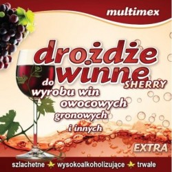 DROŻDŻE WINNE SHERRY EXTRA - MULTIMEX