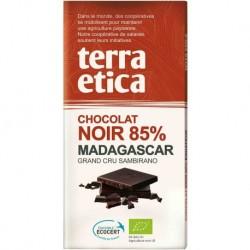CZEKOLADA GORZKA 85% MADAGASKAR FAIR TRADE BIO 100 g - TERRA ETICA