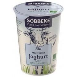 JOGURT NATURALNY MAX. 0,3% BIO 500 g - SOBBEKE