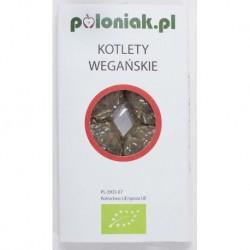 KOTLETY WEGAŃSKIE BIO 160 g - POLONIAK