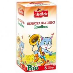 HERBATKA DLA DZIECI - ROOIBOS BIO 20 x 1,5 g - APOTHEKE