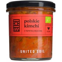 POLSKIE KIMCHI Z PAPRYKĄ WĘDZONĄ BIO 290 g - UNITED SOIL
