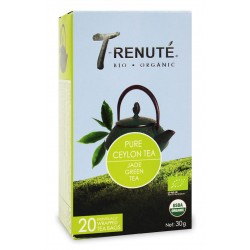 HERBATA ZIELONA PURE CEYLON TEA BIO 30 g (1,5 g x 20 szt.) - T'RENUTE