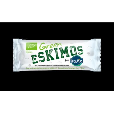 LODY - GREEN ESKIMOS - ŚMIETANKOWE NA PATYKU BIO 130 ml
