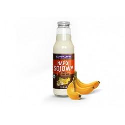 MLECZKO SOJOWE BANANOWE 750 ml - NATURAVENA