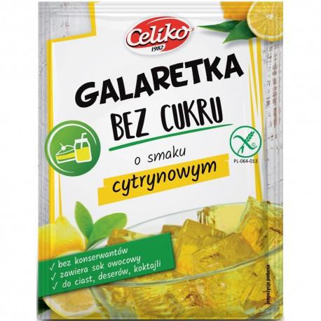 GALARETKA CYTRYNOWA 14G Bez Cukru - CELIKO