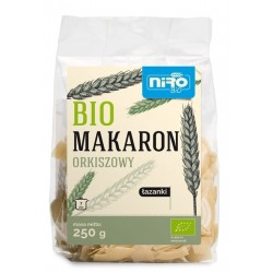 MAKARON ORKISZ ŁAZANKI 250 g - NIRO