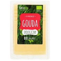 SER GOUDA W PLASTRACH BIO 150 g - SERABIO